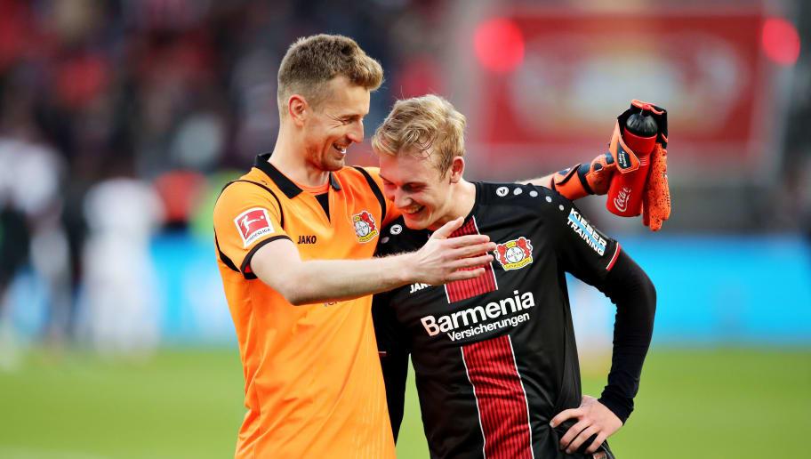 Lukas Hradecky,Julian Brandt