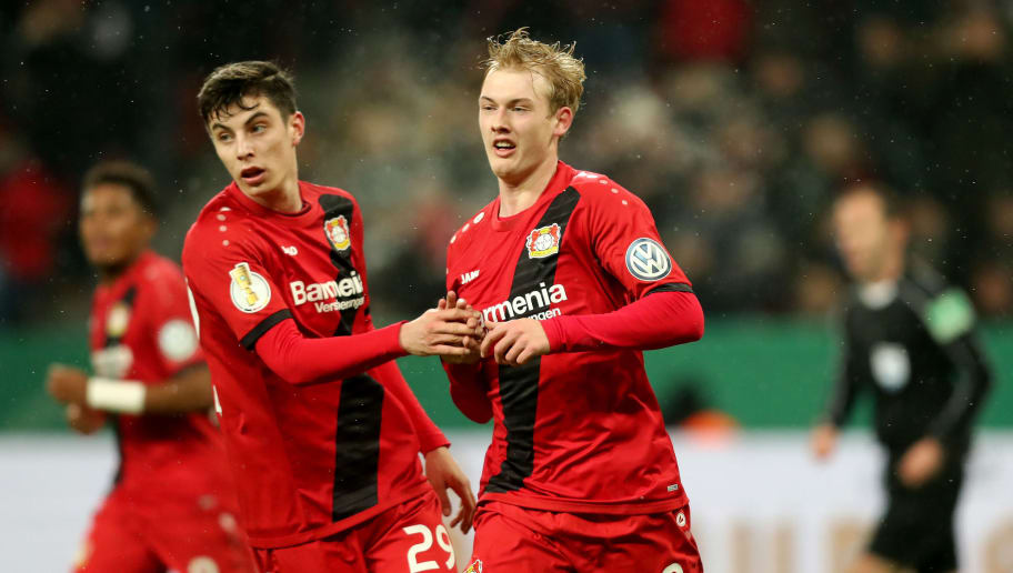 Kai Havertz,Julian Brandt