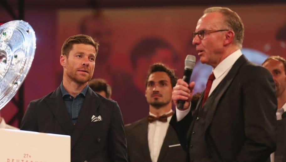 Xabi Alonso,Karl-Heinz Rummenigge