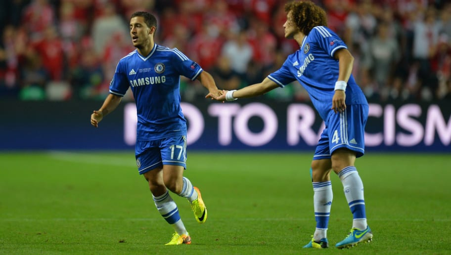 Eden Hazard,David Luiz