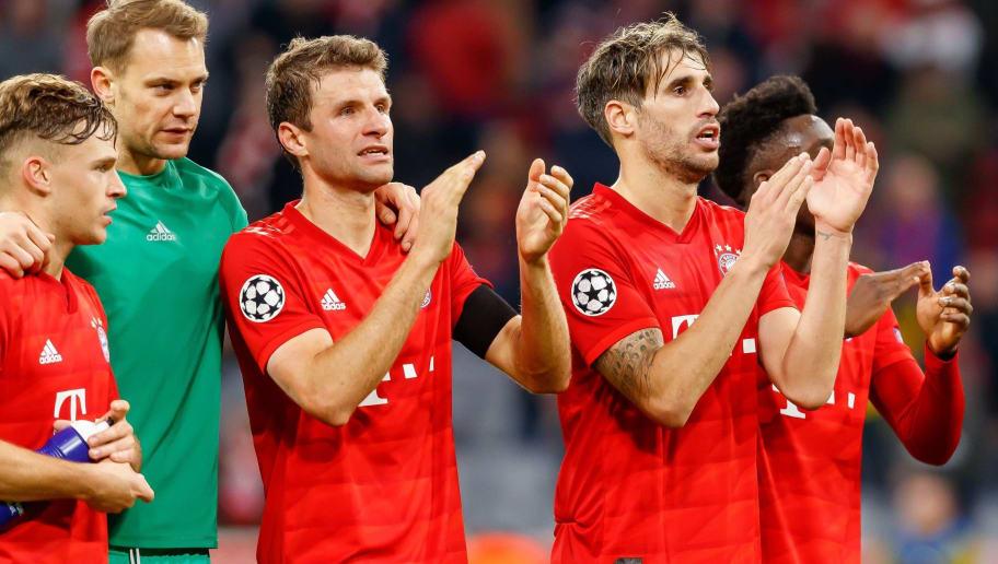 Joshua Kimmich,Manuel Neuer,Thomas Mueller,Javi Martinez,Alphonso Davies