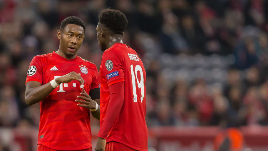 David Alaba,Alphonso Davies