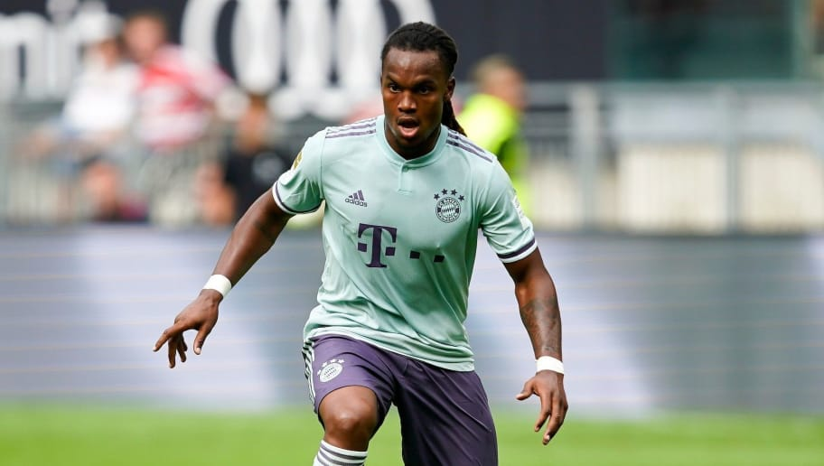 KLAGENFURT, AUSTRIA - JULY 21: Renato Sanches of FC Bayern Muenchen during the AUDI Football Summit match between Bayern Muenchen and Paris St. Germain at Woerthersee Stadion on July 21, 2018 in Klagenfurt, Austria. (Photo by Josef Bollwein - Sepa Media/Bongarts/Getty Images)