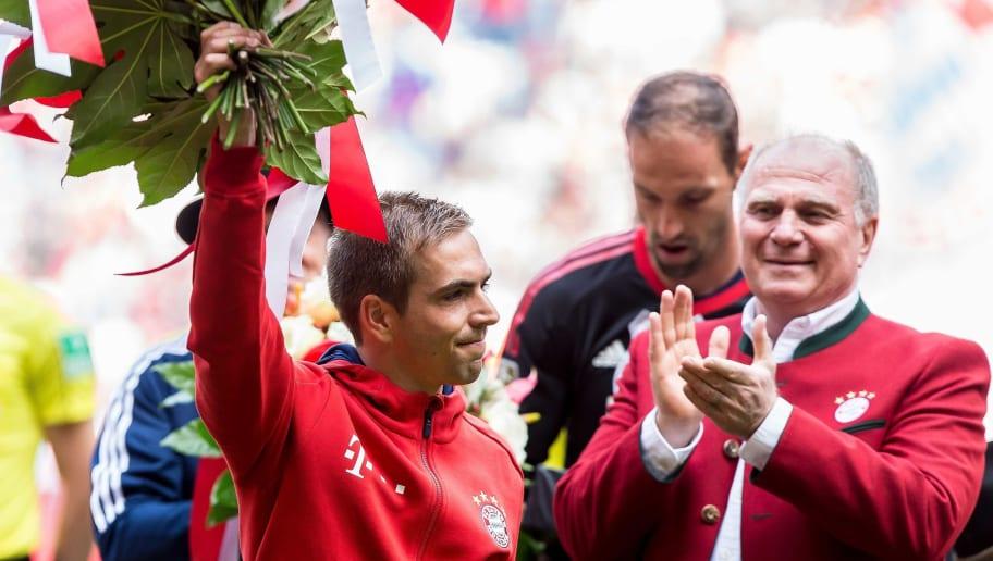 Philipp Lahm,Uli Hoeness