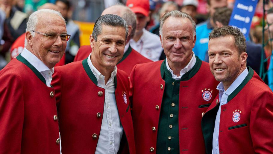 Franz Beckenbauer,Jorginio,Karl-Heinz Rummenigge,Lothar Matthaeus