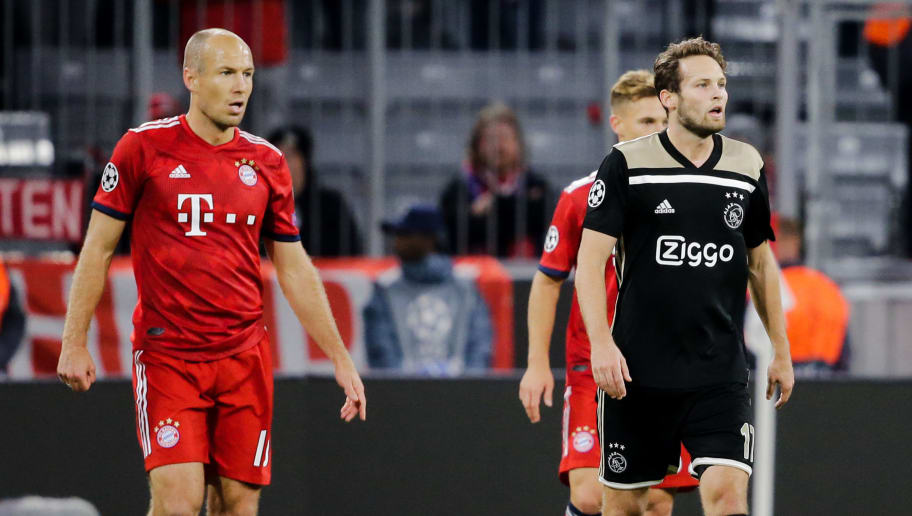 Bayern Munchen Ajax Uefa Champions League Vs