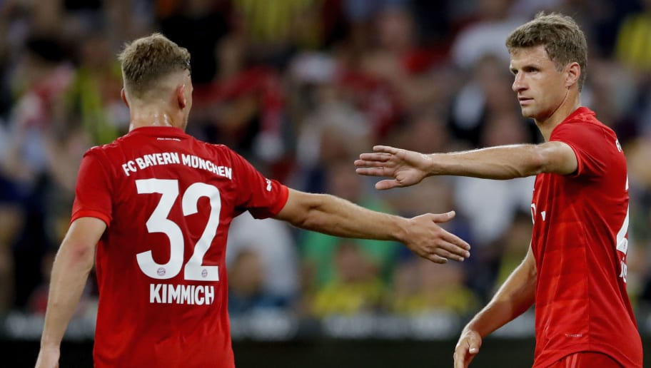 Joshua Kimmich Defends 'Dissatisfied' Thomas Muller as Forward Nears Bayern Exit
