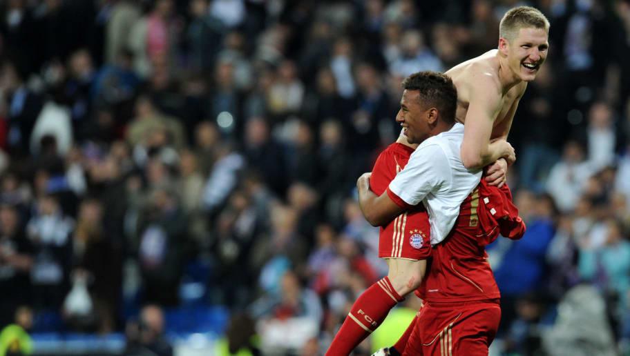 Bayern Munich's midfielder Bastian Schwe
