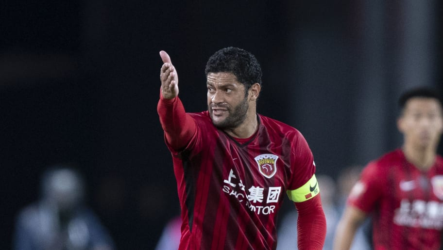 BEIJING, CHINA - SEPTEMBER 29: Hulk #10 of Shanghai SIPG reacts during 2018 Chinese Super League match between Beijing Guoan v Shanghai SIPG at Beijing Workers Stadium on September 29, 2018 in Beijing, China.  (Photo by Fred Lee/Getty Images)