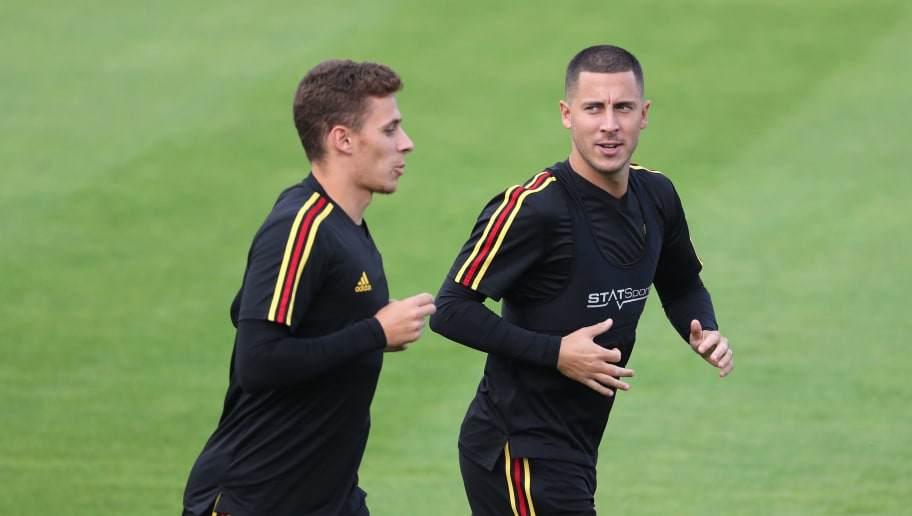 Belgium Training Session
