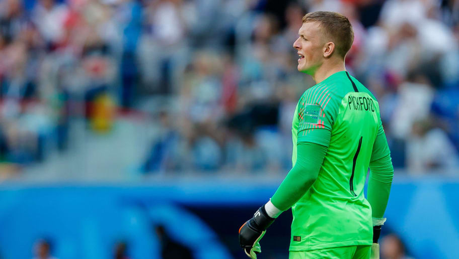 newest e213a 362de Chelsea Identify Jordan Pickford as First-Choice Replacement ...