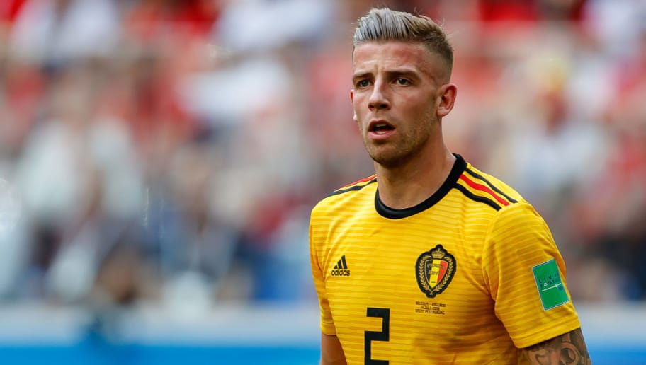 SAINT PETERSBURG, RUSSIA - JULY 14: Toby Alderweireld of Belgium looks on during the 2018 FIFA World Cup Russia 3rd Place Playoff match between Belgium and England at Saint Petersburg Stadium on July 14, 2018 in Saint Petersburg, Russia. (Photo by TF-Images/Getty Images)