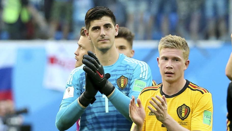 Kevin De Bruyne,Thibaut Courtois,Axel Witsel