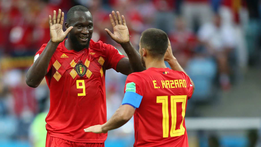 first rate ba1ab 396a6 Eden Hazard Clarifies 'Hiding' Comment About Romelu Lukaku ...