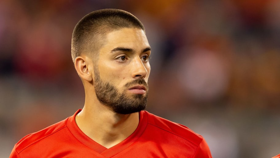 Arsenal held a meeting for Yannick Ferreira Carrasco yesterday""