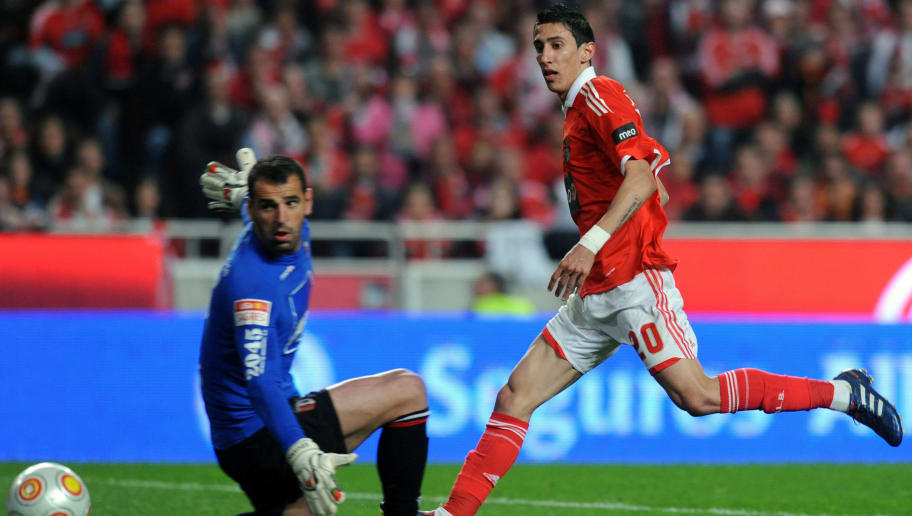 Benfica's Argentinian forward Angel Di M