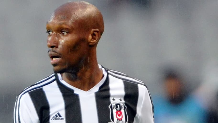 ISTANBUL,TURKEY - APRIL 20:  Atiba Hutchinson of Besiktas SK in action during the Turkish Super League match between Besiktas and Fenerbahce at the Ataturk Olympic Stadium on April 20, 2014 in Istanbul,Turkey. (Photo by Ozan Kose/EuroFootball/Getty Images)