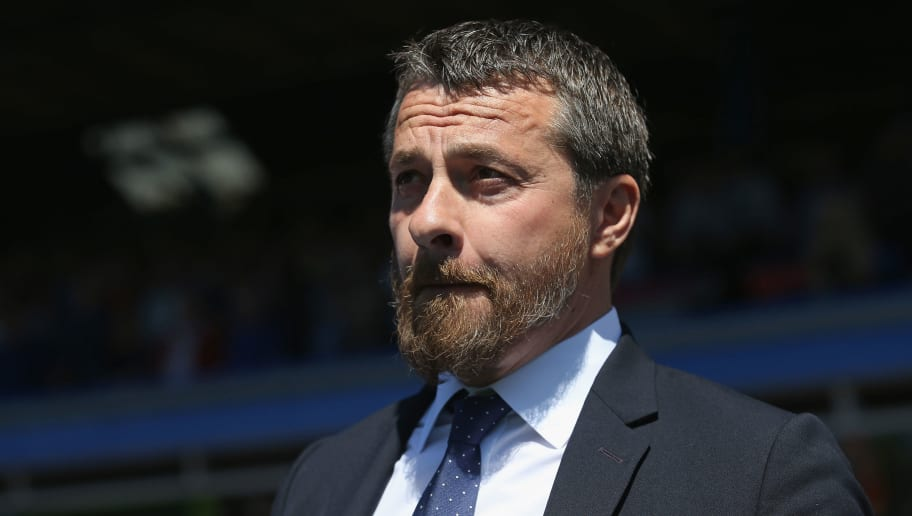 BIRMINGHAM, ENGLAND - MAY 06: Fulham Manager, Slavisa Jokanovic looks on prior to the Sky Bet Championship match between Birmingham City and Fulham at St Andrews (stadium) on May 6, 2018 in Birmingham, England. (Photo by Steve Bardens/Getty Images)