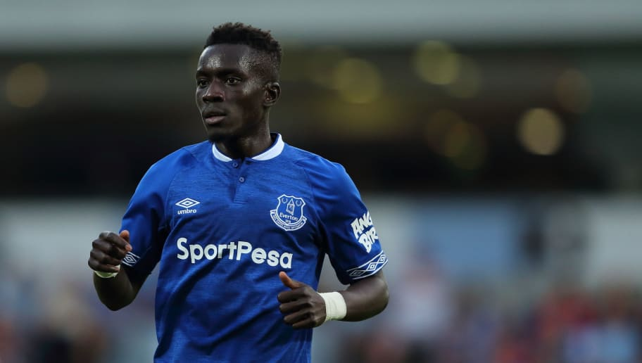 BLACKBURN, ENGLAND - JULY 26: Idrissa Gueye of Everton during the pre-season friendly between Blackburn Rovers and Everton at Ewood Park on July 26, 2018 in Blackburn, England. (Photo by James Williamson - AMA/Getty Images)