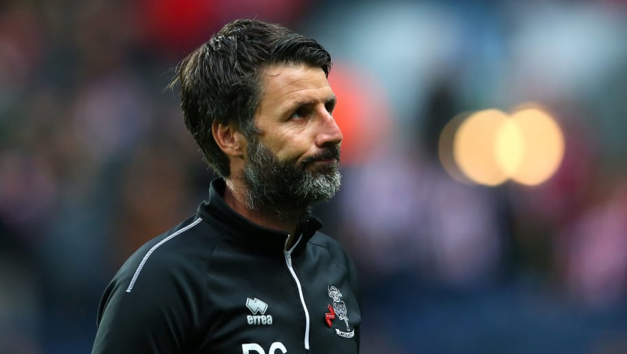 BLACKBURN, ENGLAND - AUGUST 28:  Danny Cowley the manager of Lincoln City looks on prior to the Carabao Cup Second Round match between Blackburn Rovers and Lincoln City at Ewood Park on August 28, 2018 in Blackburn, England.  (Photo by Alex Livesey/Getty Images)