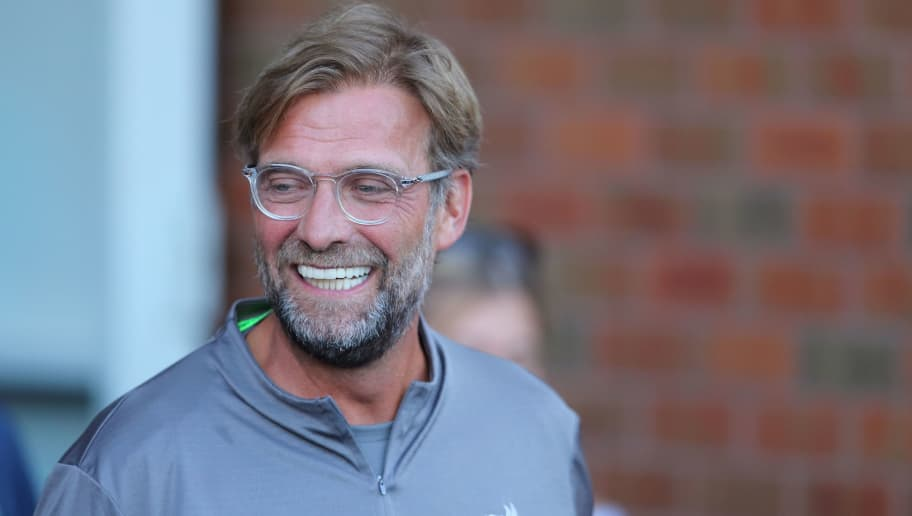 BLACKBURN, ENGLAND - JULY 19: Liverpool Manager \ Head Coach Jurgen Klopp at Ewood Park on July 19, 2018 in Blackburn, England. (Photo by James Williamson - AMA/Getty Images)