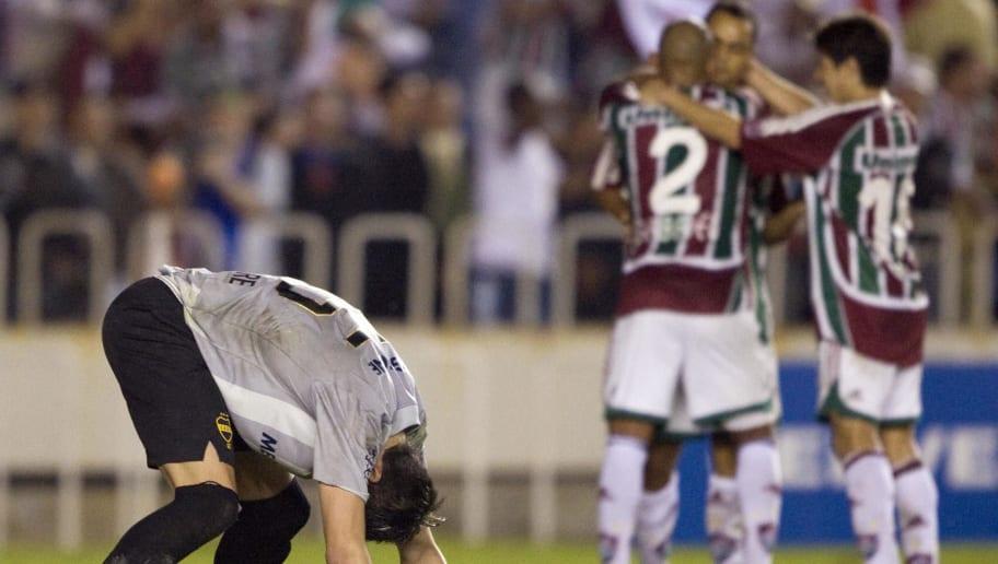 Boca Juniors goalkeeper Alejandro Miglio