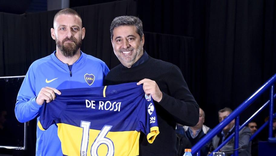 Daniele De Rossi,Daniel Angelici