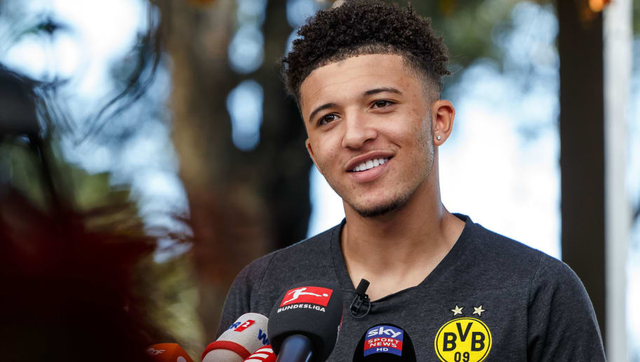 08ce05973ecb3 Jadon Sancho Hopes to Entice Other Young English Stars to Bundesliga ...