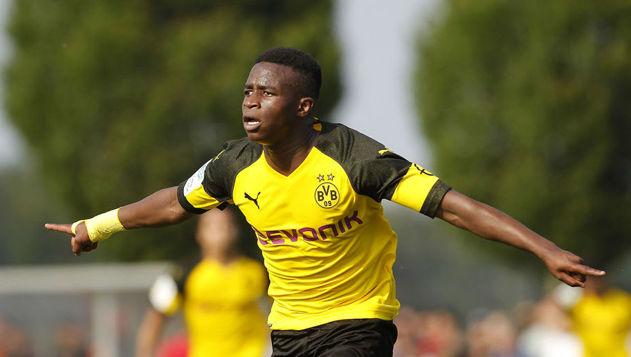 Youssoufa Moukoko Watch Borussia-dortmund-u17-v-bayer-leverkusen-u17-b-juniors-german-championship-semi-final-leg-two-5cf4f1a1e86ef9ff5100001f