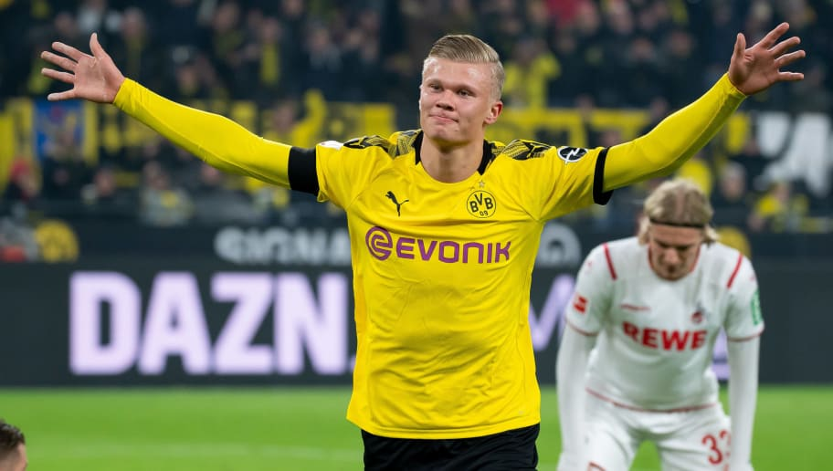 Record Breaking Erling Haaland Isn T A Flash In The Pan He S The Key To Dortmund Winning Trophies 90min