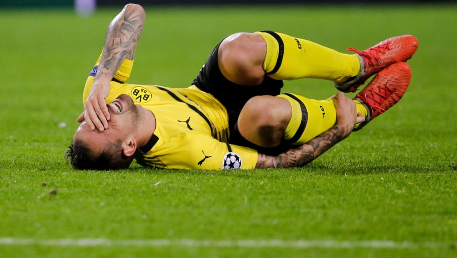 DORTMUND, GERMANY - OCTOBER 3: Paco Alcacer of Borussia Dortmund during the UEFA Champions League  match between Borussia Dortmund v AS Monaco at the Signal Iduna Park on October 3, 2018 in Dortmund Germany (Photo by Erwin Spek/Soccrates/Getty Images)