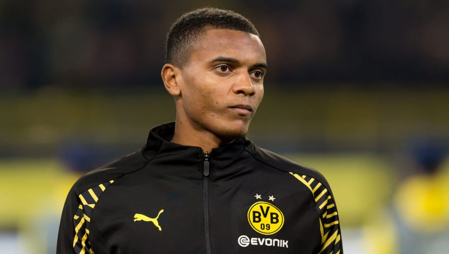 DORTMUND, GERMANY - OCTOBER 03: Manuel Akanji of Borussia Dortmund looks on prior the Group A match of the UEFA Champions League between Borussia Dortmund and AS Monaco at Signal Iduna Park on October 3, 2018 in Dortmund, Germany. (Photo by TF-Images/TF-Images via Getty Images)