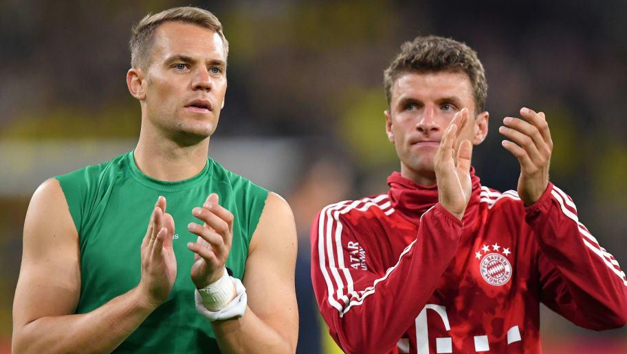Manuel Neuer,Thomas Muller