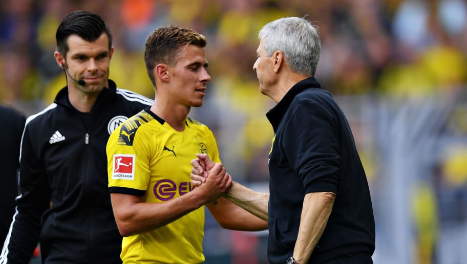 Thorgan Hazard,Lucien Favre
