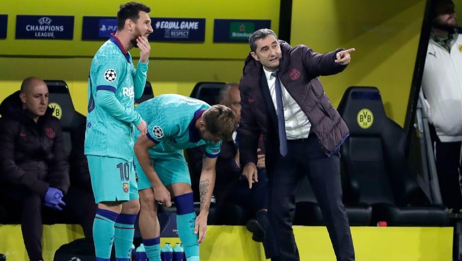Ernesto Valverde,Ivan Rakitic,Lionel Messi