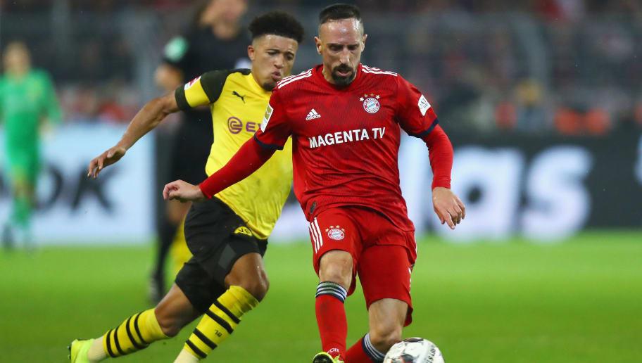 Jadon Sancho,Franck Ribery