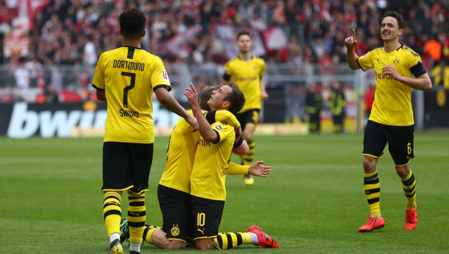 Mario Gotze,Thomas Delaney,Jadon Sancho