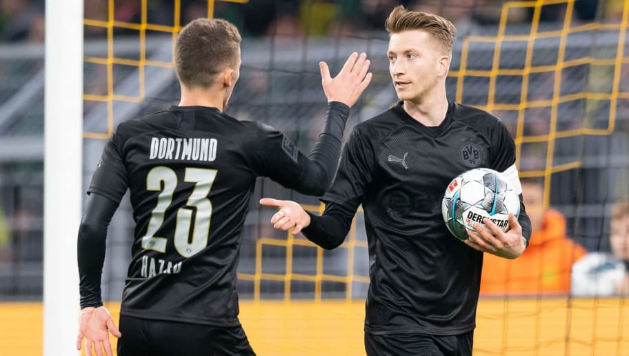Marco Reus,Thorgan Hazard