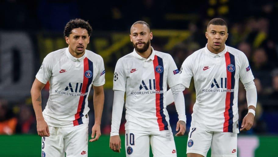 Neymar,Marqinhos,Kylian Mbappe