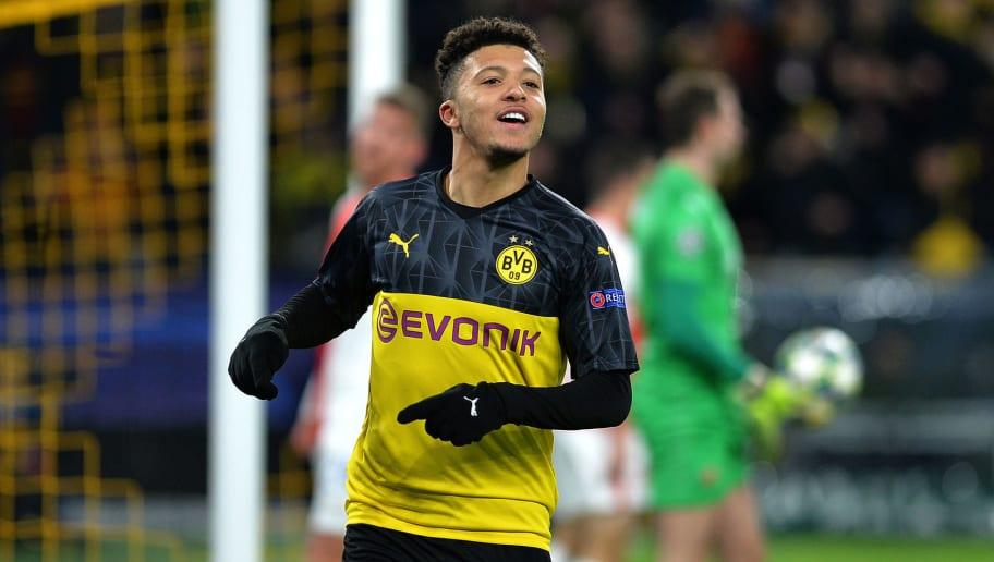 Twitter Reacts as Jadon Sancho Inspires Borussia Dortmund to Champions League Knockout Qualification