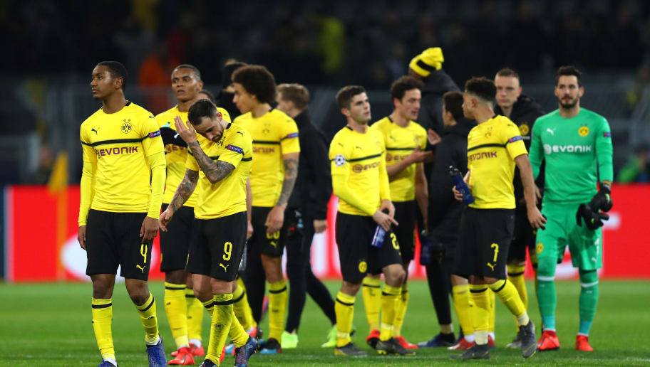 Borussia Dortmund v Tottenham Hotspur - UEFA Champions League Round of 16: Second Leg For Santander