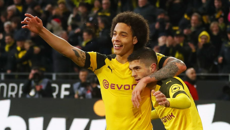 Christian Pulisic,Axel Witsel