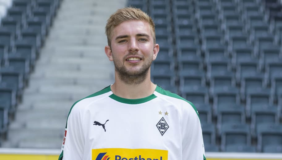 MOENCHENGLADBACH, GERMANY - AUGUST 02: Christoph Kramer of Borussia Moenchengladbach poses during the team presentation at Borussia Park on August 2, 2018 in Moenchengladbach, Germany. (Photo by Christof Koepsel/Bongarts/Getty Images)