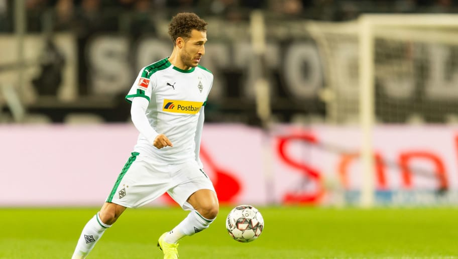 MOENCHENGLADBACH, GERMANY - DECEMBER 17: Fabian Johnson of Borussia Moenchengladbach controls the ball during the Bundesliga match between Borussia Moenchengladbach and 1.FC Nuernberg at Borussia-Park on December 17, 2018 in Moenchengladbach, Germany. (Photo by TF-Images/TF-Images via Getty Images)