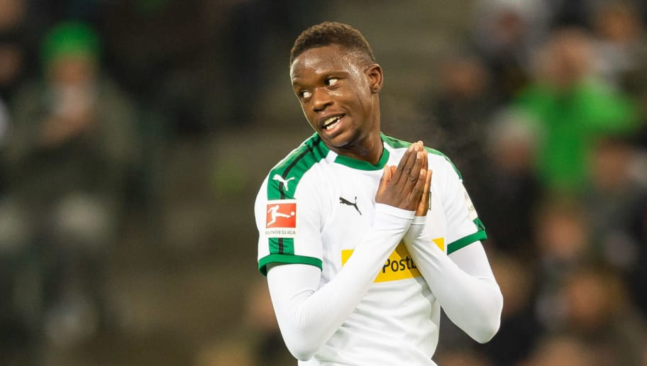 MOENCHENGLADBACH, GERMANY - DECEMBER 17: Denis Zakaria of Borussia Moenchengladbach looks on during the Bundesliga match between Borussia Moenchengladbach and 1.FC Nuernberg at Borussia-Park on December 17, 2018 in Moenchengladbach, Germany. (Photo by TF-Images/TF-Images via Getty Images)