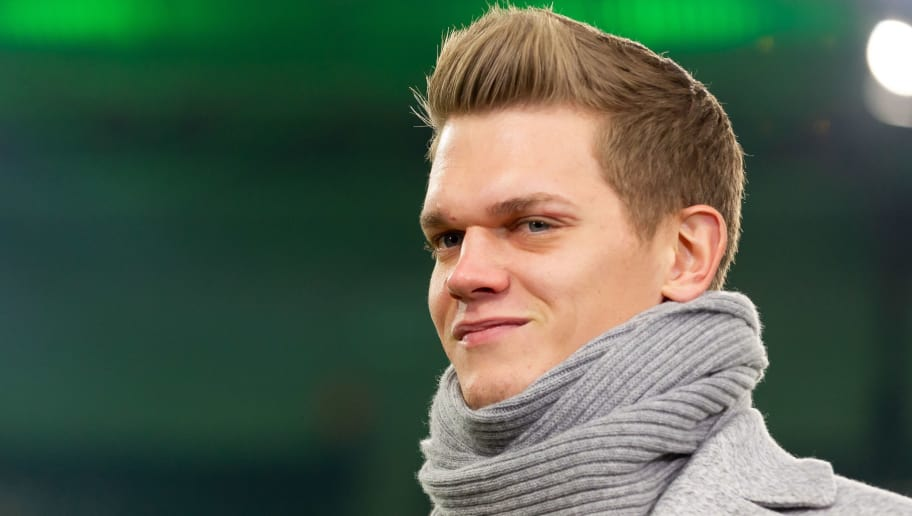 MOENCHENGLADBACH, GERMANY - DECEMBER 17: Matthias Ginter of Borussia Moenchengladbach looks on during the Bundesliga match between Borussia Moenchengladbach and 1.FC Nuernberg at Borussia-Park on December 17, 2018 in Moenchengladbach, Germany. (Photo by TF-Images/TF-Images via Getty Images)