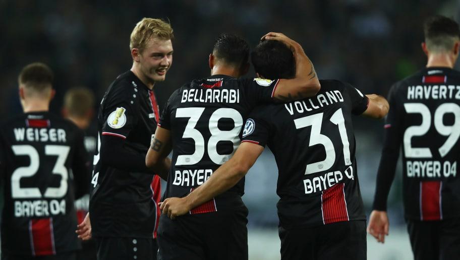 lKevin Volland,Julian Brandt,Karim Bellarabi
