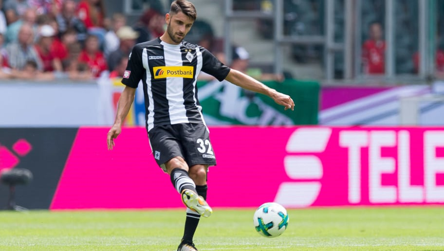 MOENCHENGLADBACH, GERMANY - JULY 15: Vincenzo Grifo of Gladbach controls the ball during the Telekom Cup 2017 match between Borussia Moenchengladbach and Werder Bremen at on July 15, 2017 in Moenchengladbach, Germany. (Photo by TF-Images/TF-Images via Getty Images)