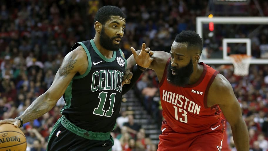 James Harden Drives Rockets to Big Win Over Kyrie Irving ...Kyrie Irving Sage
