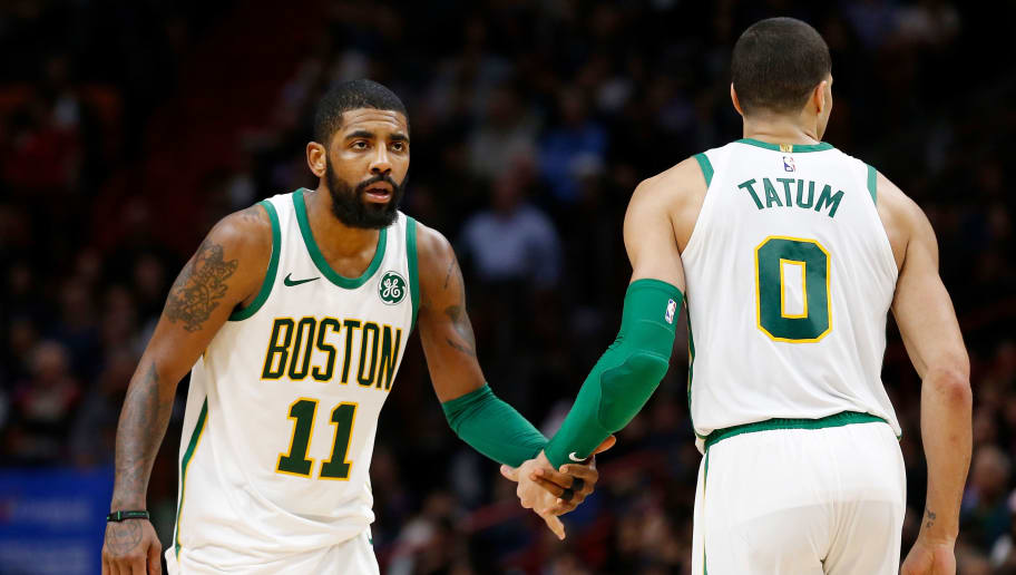f03c5969f7a2 Jayson Tatum Sucking Up to Kyrie Irving Won t Keep Him With Celtics ...